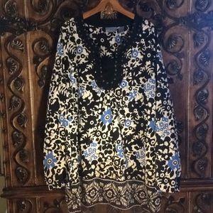 Liz & Me 3X blouse